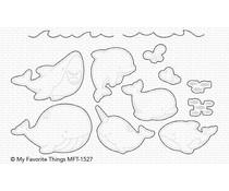 My Favorite Things Friends with Fins Die-namics (MFT-1527)