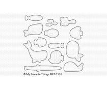 My Favorite Things Fish You Were Here Die-namics (MFT-1531)