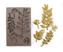 Prima Marketing Leafy Blossom 5x8 Inch Mould (635756)