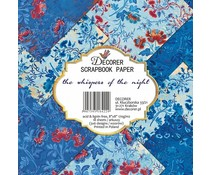Decorer The Whispers of the Night 8x8 Inch Paper Pack (DECOR-B24-422)