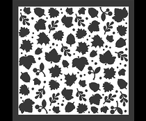 LDRS Creative Happy Fall 6x6 Inch Leaves Stencil (3102)