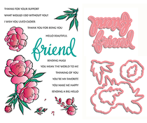 LDRS Creative If Friends Were Flowers Stamp & Die Set (3121)