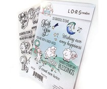 LDRS Creative Thank Ewe Rubber Stamps (3125)