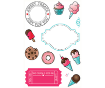 LDRS Creative Sweet Treats Clear Stamps (3132)
