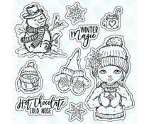 LDRS Creative Hot Chocolate Clear Stamps (CCD115)