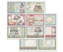 Stamperia 6 Frame decorations 12x12 Inch Paper Sheet (BSS630)