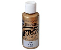 Stamperia Allegro Paint 59ml Gold (KAL01)