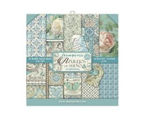 Stamperia Azulejos 8x8 Inch Paper Pack (SBBS04)