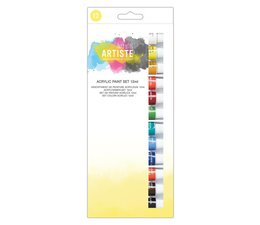 Docrafts Acrylic Paint Set 12ml (12pk) (DOA 551000)