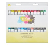 Docrafts Acrylic Paint Set 12ml (24pk) (DOA 551001)