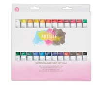 Docrafts Watercolour Paint Set 12ml (24pk) (DOA 551005)