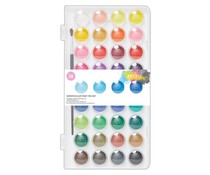 Docrafts Watercolour Paint Pan Set (36pk) (DOA 7691106)