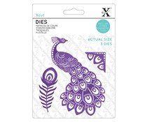 Xcut Dies Ornate Peacock (XCU 503478)