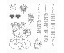 My Favorite Things Drink Up the Sunshine Clear Stamps (BB-74)