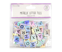 Dovecraft Iridescent Chipboard Letter Tiles (DCBS226)