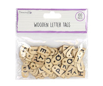 Dovecraft Wooden Letter Tags (DCBS215)