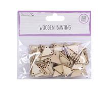 Dovecraft Wooden Bunting (DCBS216)
