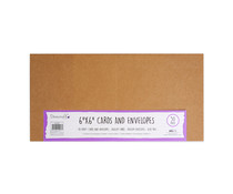 Dovecraft Kraft 6x6 Inch Cards & Envelopes (50pcs) (DCBS200)