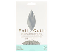 We R Memory Keepers Foil Sheets 4x6 Inch Silver Swan (30pcs) (660668)
