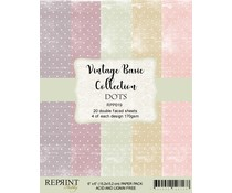 Reprint Dots Basic 6x6 Inch Paper Pack (RPP019)