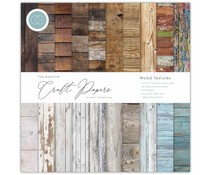 Craft Consortium Essential Craft Papers 6x6 Inch Paper Pad Wood Textures (CCEPAD001B)
