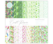 Craft Consortium Essential Craft Papers 6x6 Inch Paper Pad Tropical Paradise (CCEPAD006B)