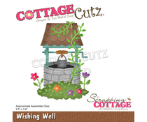 Scrapping Cottage Wishing Well  (CC-634)