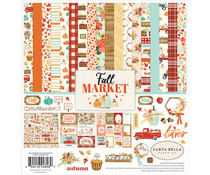Carta Bella Fall Market 12x12 Inch Collection Kit (CBFAM105016)