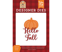 Echo Park Hello Fall Pumpkin Die Set (MFF187040)