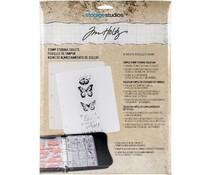 Idea-ology Tim Holtz Stamp Storage Sheets (8pcs) (CH93823)