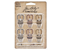 Idea-ology Tim Holtz Buckles (6pcs) (TH93064)