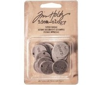 Idea-ology Tim Holtz Typed Tokens (24pcs) (TH93203)