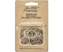 Idea-ology Tim Holtz Mini Book Rings (18pcs) (TH93272)