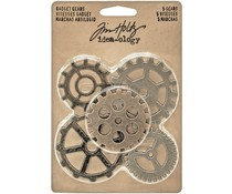 Idea-ology Tim Holtz Gadget Gears (5pcs) (TH93297)