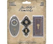 Idea-ology Tim Holtz Large Keyholes (3pcs) (TH93678)