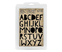 Idea-ology Tim Holtz Cling Foam Stamps Cutout Upper (26pcs) (TH93699)