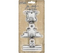 Idea-ology Tim Holtz Vintage Clips (3pcs) (TH93795)