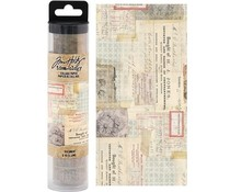 Idea-ology Tim Holtz Collage Paper Document (6yards) (TH93951)