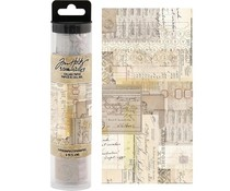 Idea-ology Tim Holtz Collage Paper Typography (6yards) (TH93952)