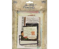 Idea-ology Tim Holtz Layers Renmants (33pcs) (TH93956