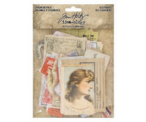 Idea-ology Tim Holtz Ephemera Pack Keepsakes (TH93958)