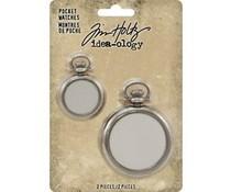 Idea-ology Tim Holtz Pocket Watches (2pcs) (TH93960)