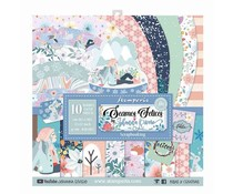 Stamperia Seamos Felices 12x12 Inch Paper Pack (SBBL61)