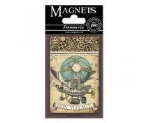 Stamperia Voyages Fantastiques Balloon 8x5.5cm Magnet (EMAG005)