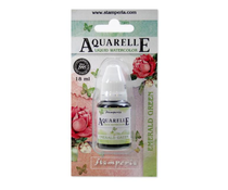 Stamperia Aquarelle Watercolor Emerald Green (18ml) (KAWCL05)