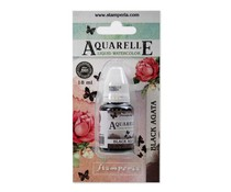 Stamperia Aquarelle Watercolor Black Agata (18ml) (KAWCL12)