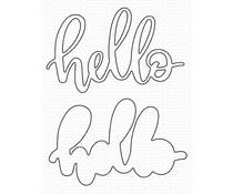 My Favorite Things Little Hello Die-namics (MFT-1561)