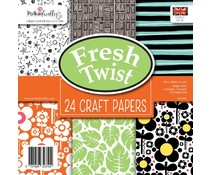 Polkadoodles Fresh Twist 6x6 Inch Paper Pack (PD7940)