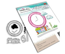 Polkadoodles Round The Houses Clear Stamps (PD7939)