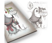 Polkadoodles Gnome North Pole Clear Stamp (PD7944)